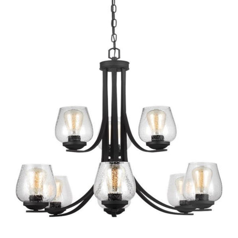 Luna 9-Light Chandelier, Chandelier, Blacksmith