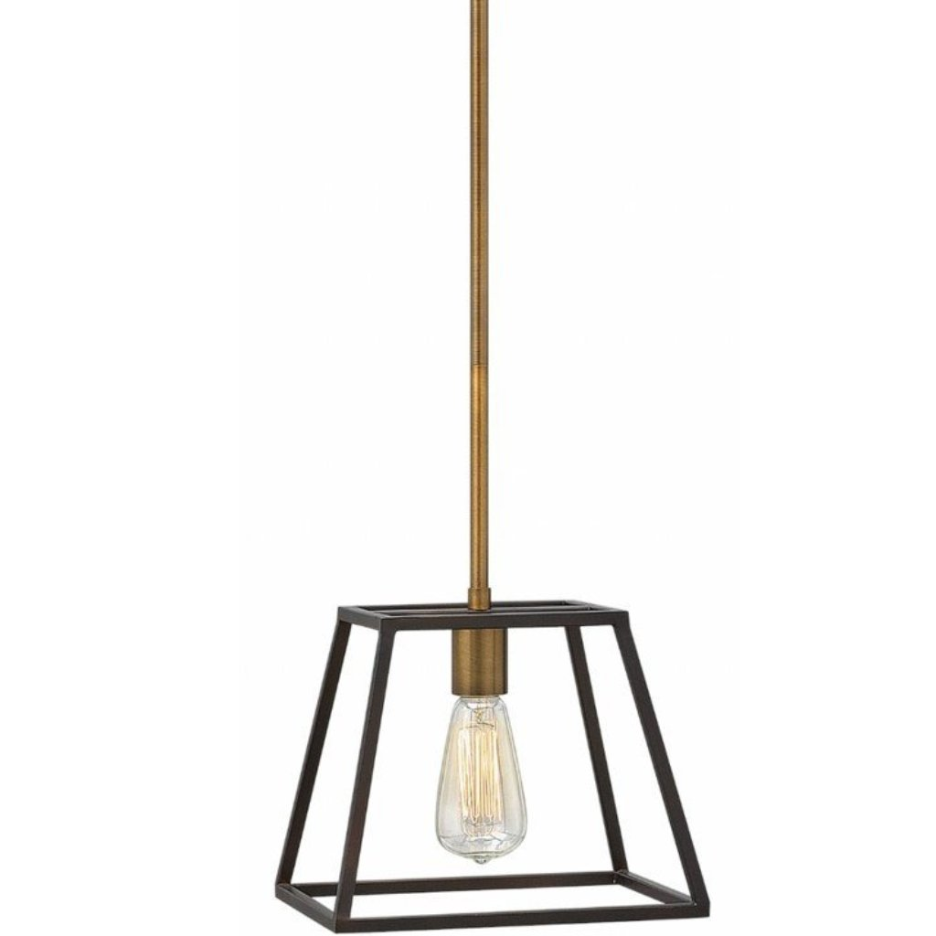 1 Light Fulton Pendant in Bronze by Hinkley Lighting 3337BZ
