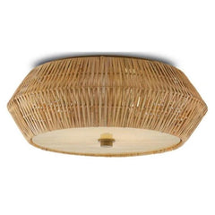Lulu Flush Mount, Flush Mount, Honey Beige