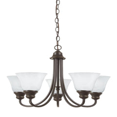 Cambria 5-Light Chandelier, Chandelier, Bronze