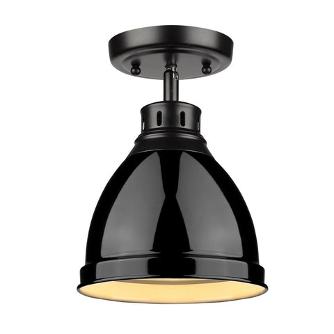 Elm Flush Mount in Black