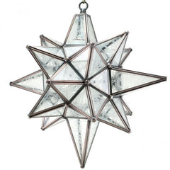 Moravian Glue Chip Star of Bethlehem