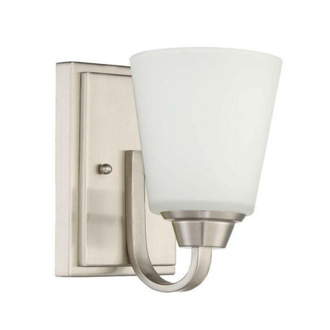 Venice Sconce, Sconce, Brushed Nickel