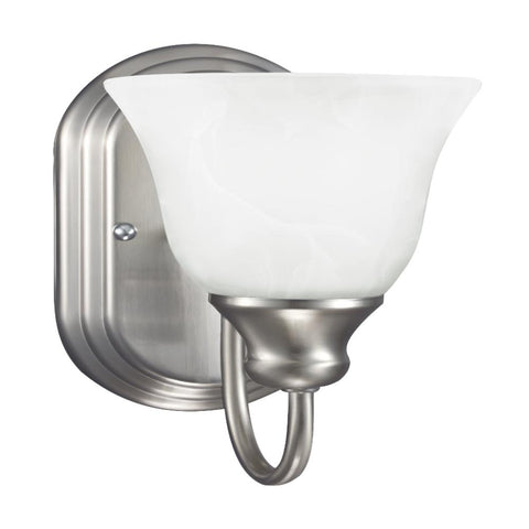Cambria Sconce, Sconce, Brushed Nickel