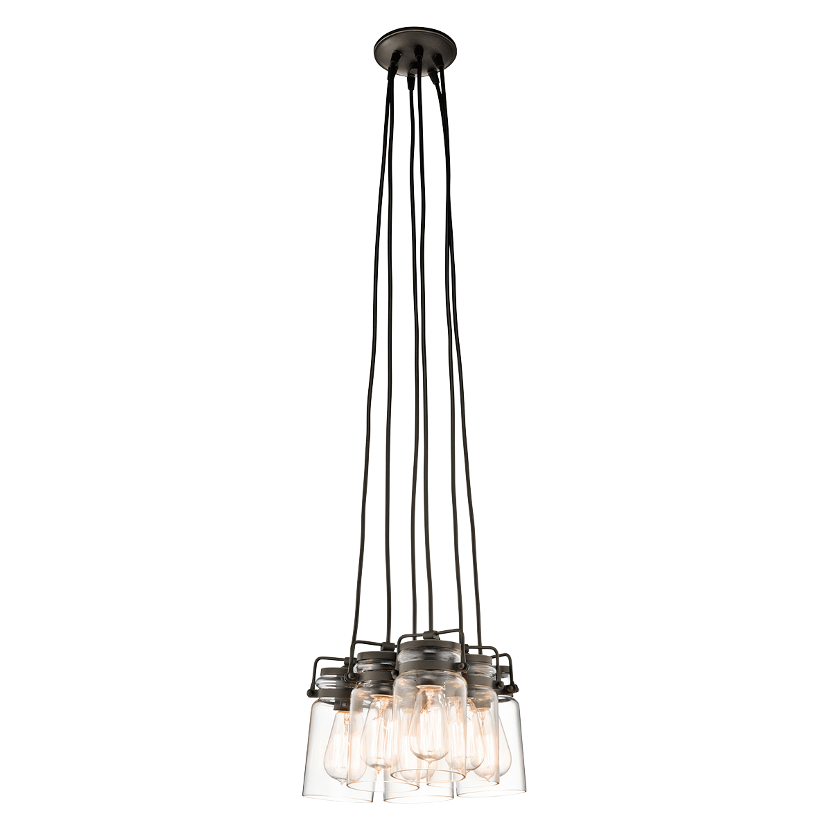 Brinley 6 Light Pendant Cluster