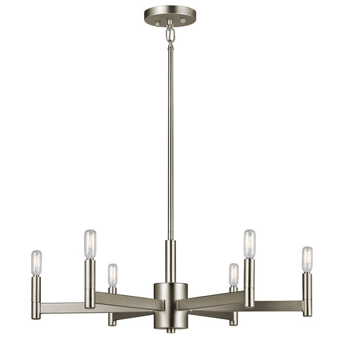 Erzo Chandelier by Kichler in Satin Nickel 43859SN