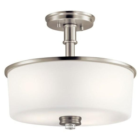 Balboa Semi-Flush Mount, Mount, Brushed Nickel