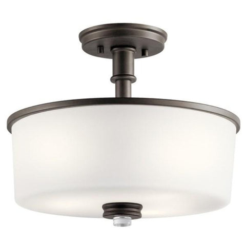 Balboa Semi-Flush Mount, Mount, Bronze
