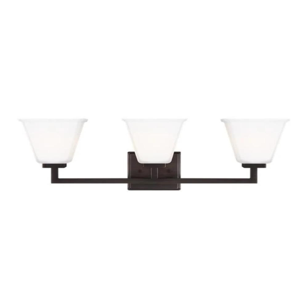 Poppy 3-Light Vanity, Vanity, Oil Rubbed Bronze