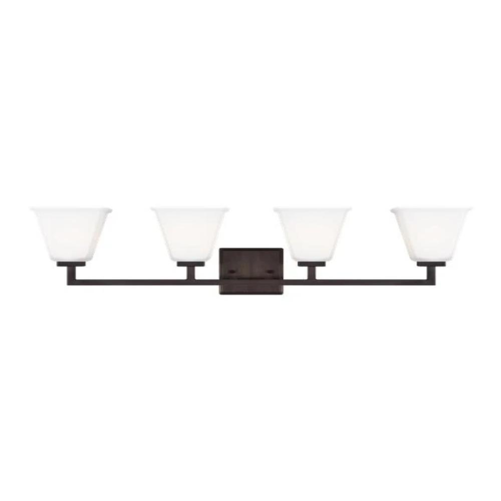 Poppy 4-Light Vanity, Vanity, Oil Rubbed Bronze