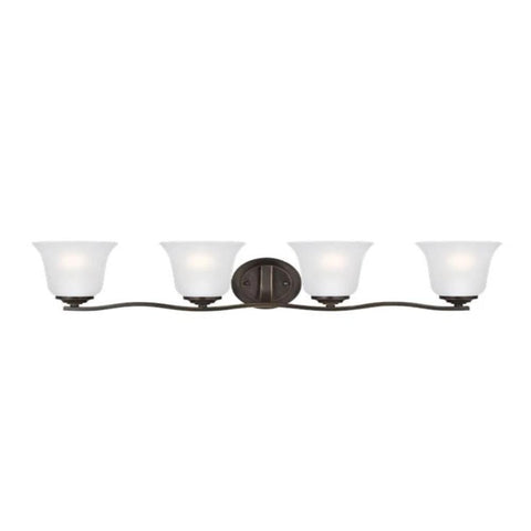 Hanover 4-Light Vanity, Vanity, Heirloom Bronze