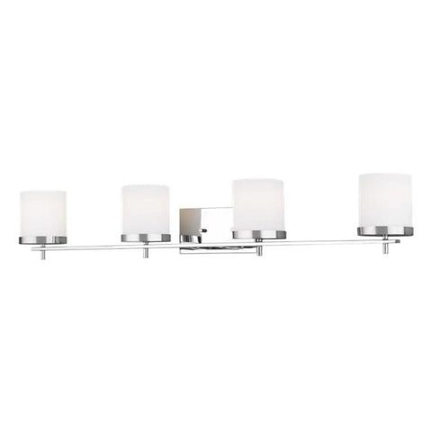 Huntington 4-Light Vanity, Chrome