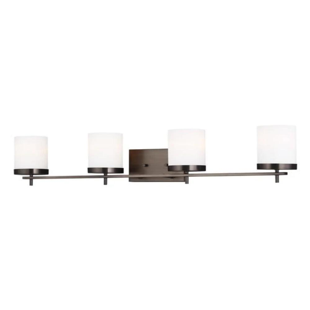 Huntington 4-Light Vanity, Vanity, Oil Rubbed Bronze