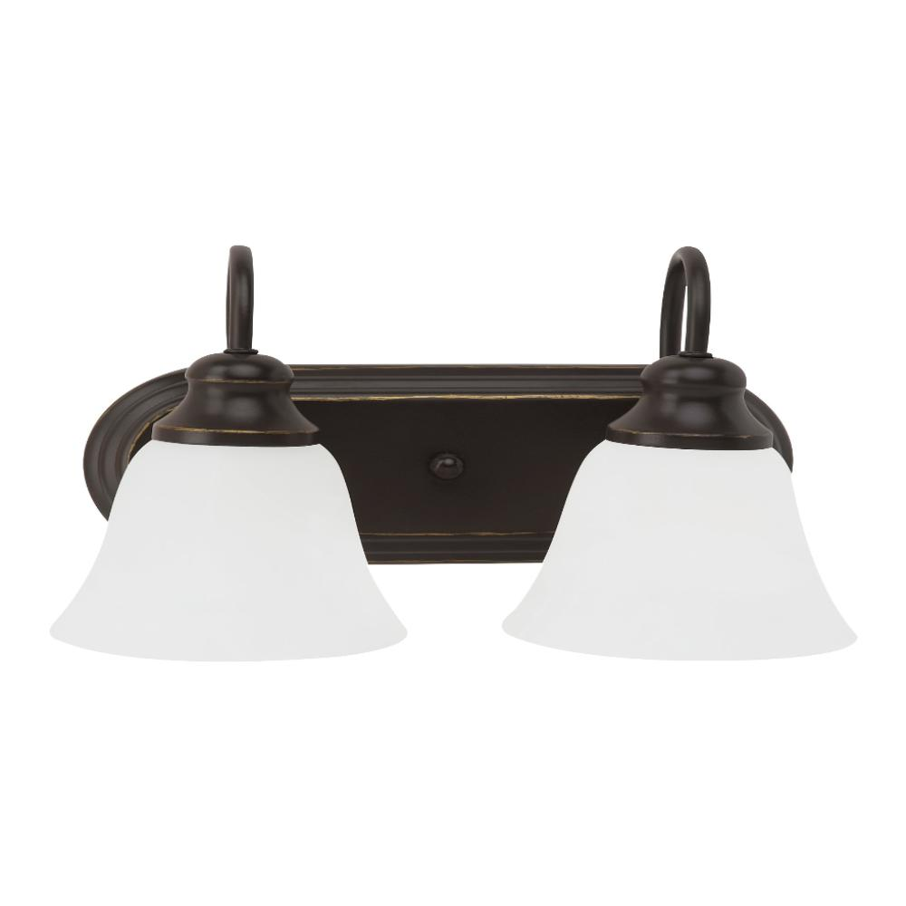 Cambria 2-Light Vanity, Vanity, Bronze