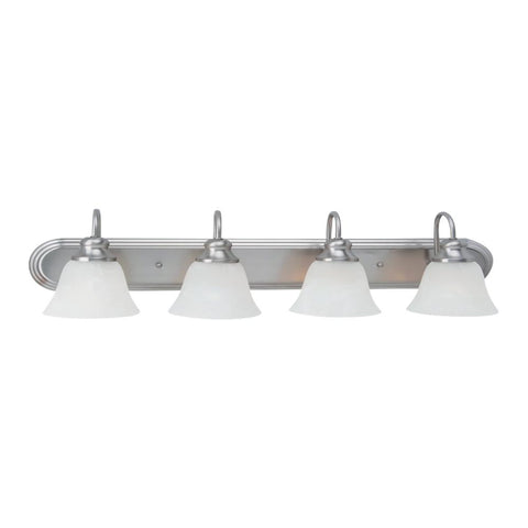 Cambria 4-Light Vanity, Vanity, Brushed Nickel
