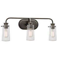 3 Light Braelyn Vanity in Old Bronze by Kichler Lighting 45459OZ