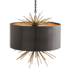 Arteriors Patton Pendant in Bronze and Antique Brass 46831