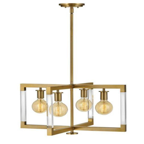 Kellen Medium Pendant, Pendant, Lacquered Brass