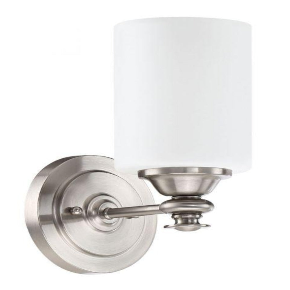 Morrison Sconce, Sconce, Brushed Nickel