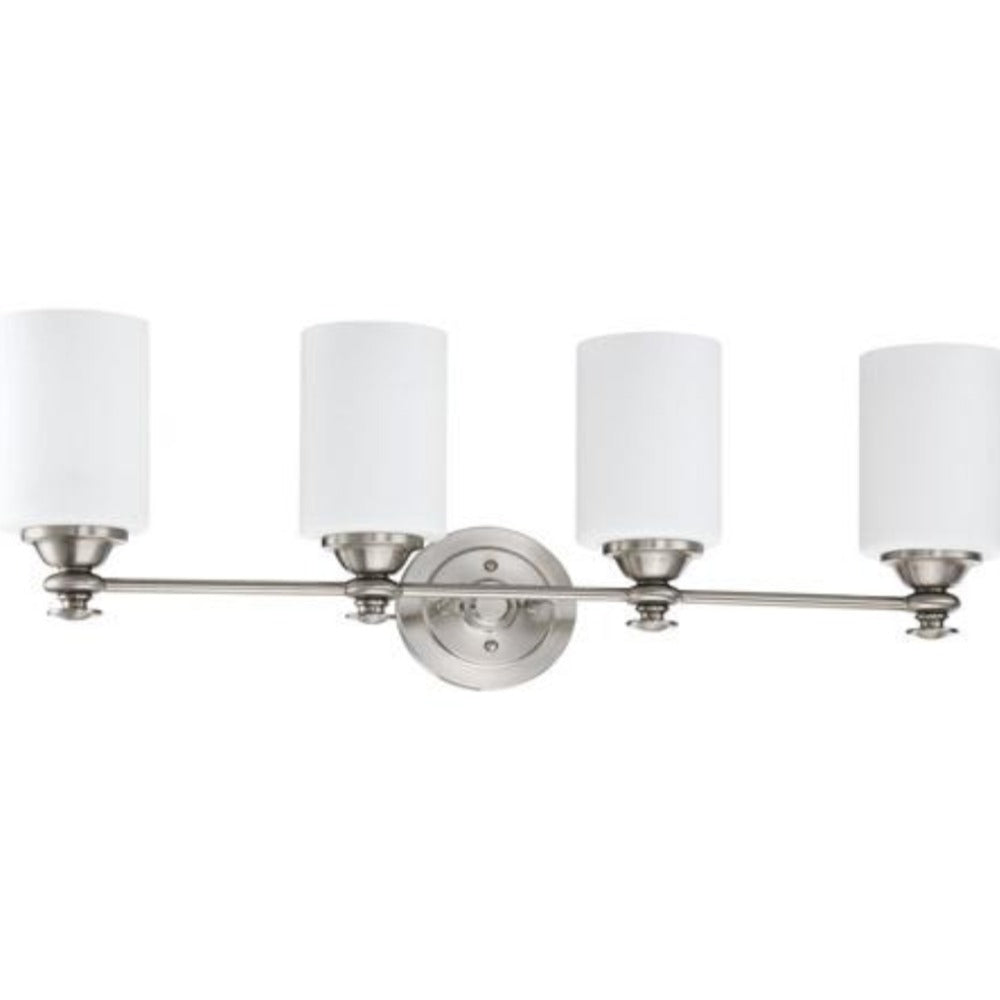 Morrison 4-Light Vanity, Vanity, Brushed Nickel