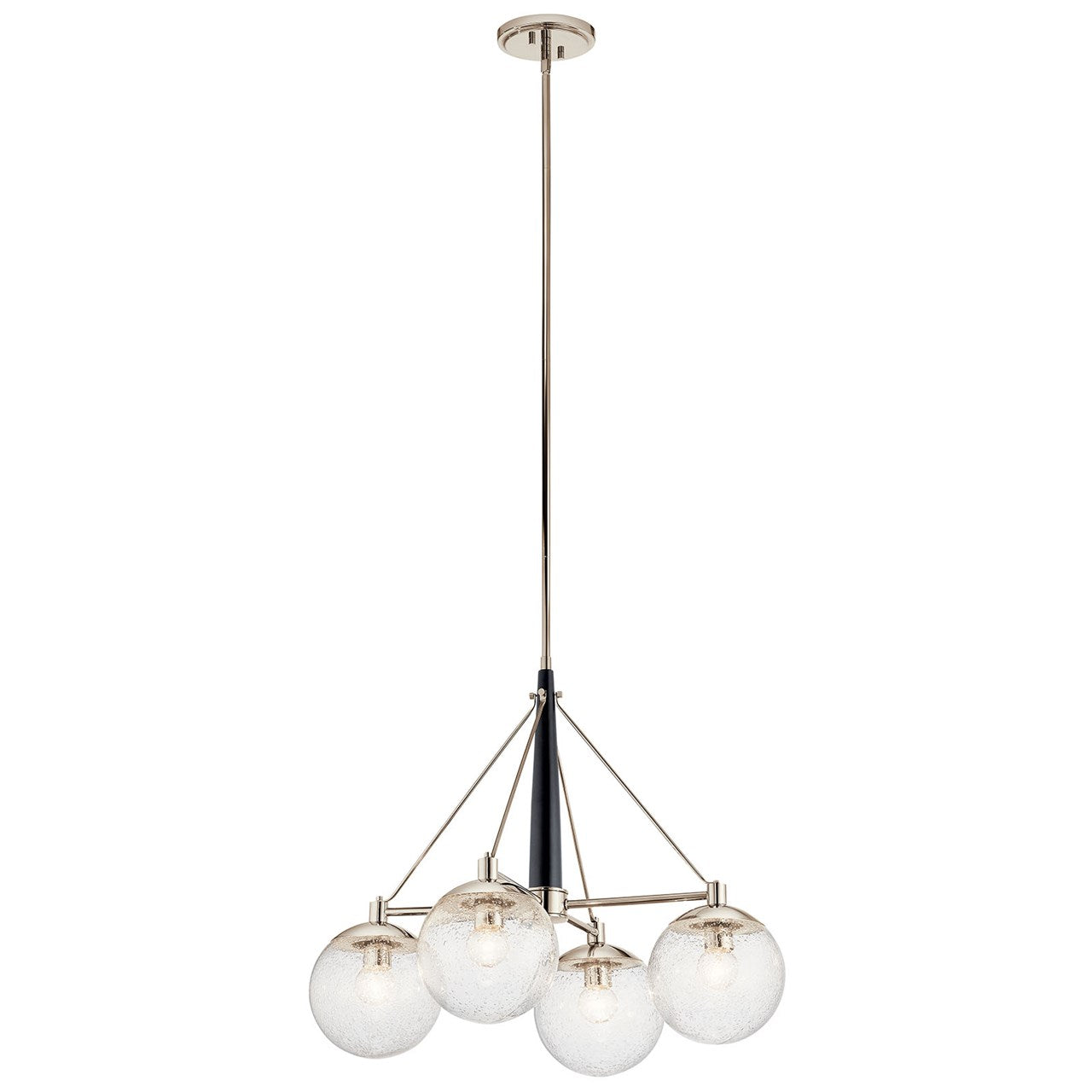 Marilyn Polished Nickel Chandelier