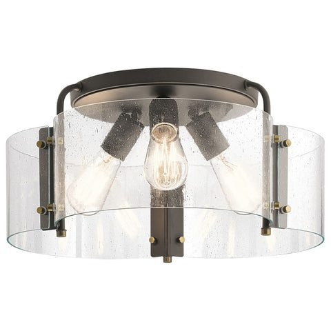 Thoreau 3-Light Semi Flush