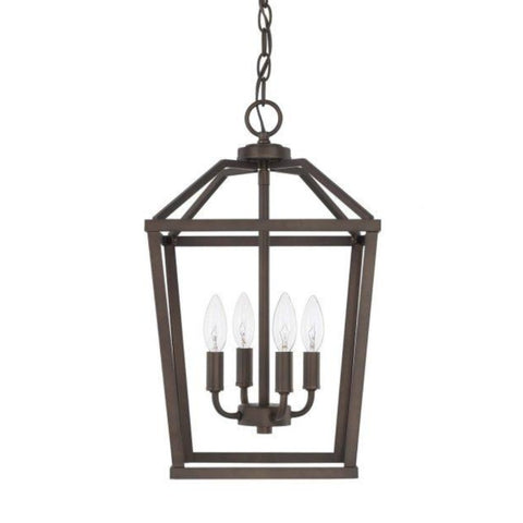 Balboa 4-Light Foyer, Pendant, Bronze