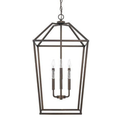 Balboa 6-Light Foyer, Pendant, Bronze