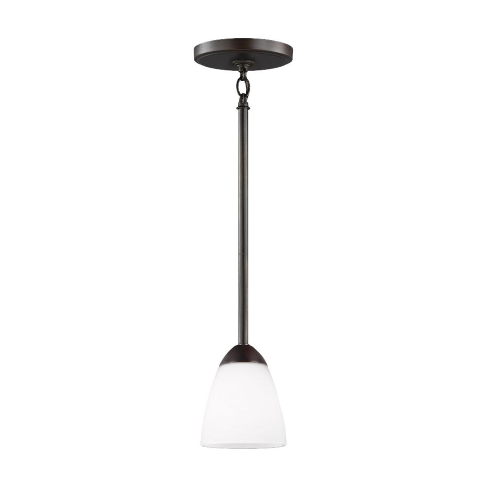 Barton 1-Light Mini-Pendant, Pendant, Bronze