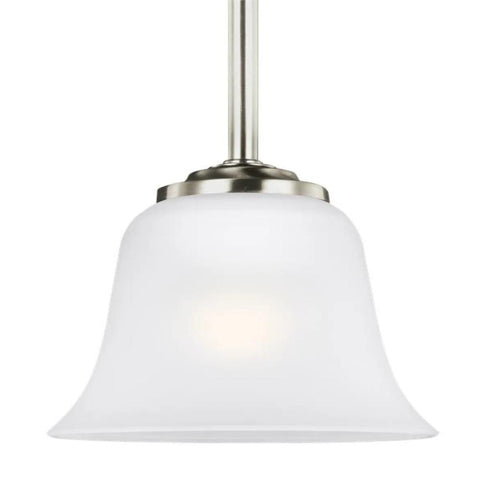 Hanover Mini-Pendant, Pendant, Brushed Nickel