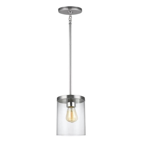 Huntington Pendant, Pendant, Chrome
