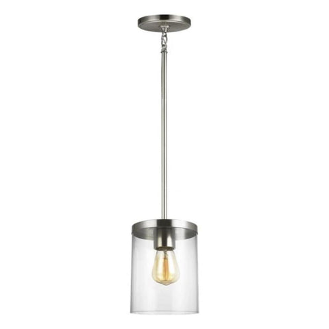 Huntington Pendant, Pendant, Brushed Nickel