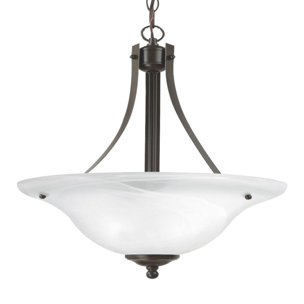 Cambria 2-Light Pendant, Pendant, Bronze