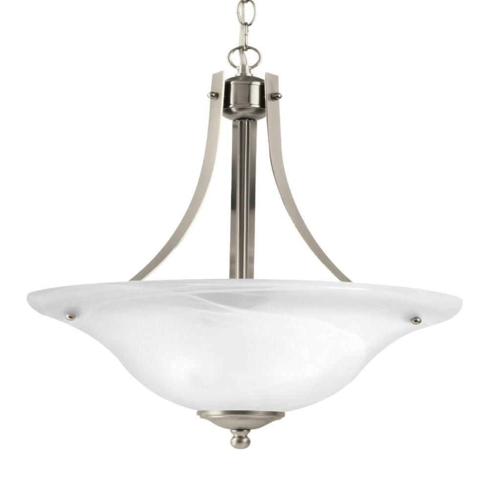 Cambria 2-Light Pendant, Pendant, Brushed Nickel
