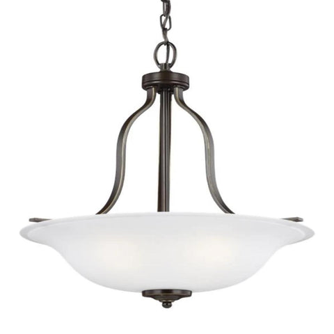 Hanover 3-Light Pendant, Pendant, Heirloom Bronze