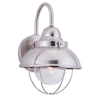 Sebring Nautical Outdoor Ceiling Mount by Sea Gull Lighting in Brushed Stainless 8870-98
