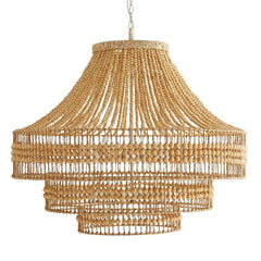 Isla Chandelier, Chandelier, Natural