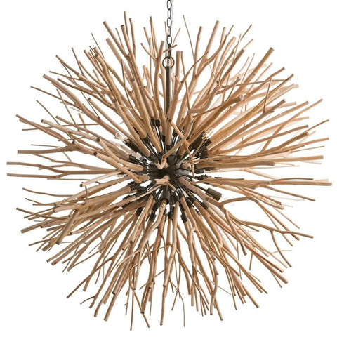 Enzo Chandelier, Chandelier, Natural