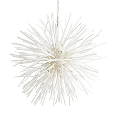Enzo Chandelier, Chandelier, White Wash