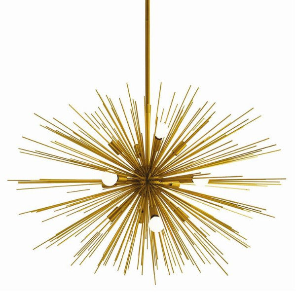 Zanadoo Chandelier by Arteriors in Antique Brass 89991