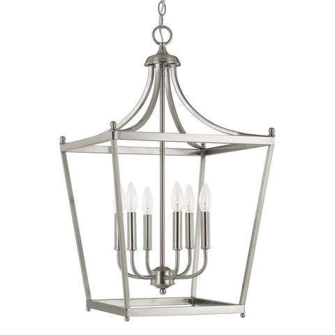 Stanton Pendant in Brushed Nickel by Capital Lighting 9552BN