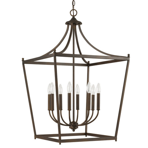 Stanton Pendant in Burnished Bronze by Capital Lighting 9553BB