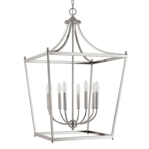 Stanton Pendant in Polished Nickel by Capital Lighting 9553PN