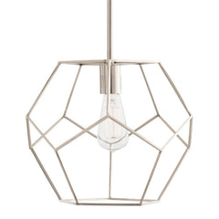 Small Mara Pendant in Polished Nickel by Arteriors 41003