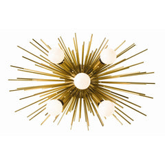 Zanadoo 5 Light Wall Sconce in Antique Brass by Arteriors Home 49996