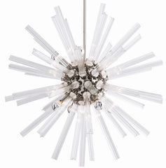 Small Hanley Chandelier in Polished Nickel by Arteriors Home 89010