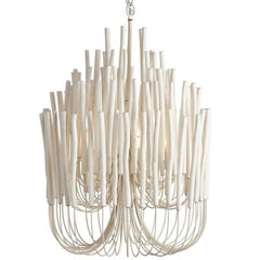 Tilda Chandelier in Whitewash Wood Finish by Arteriors Home 89559