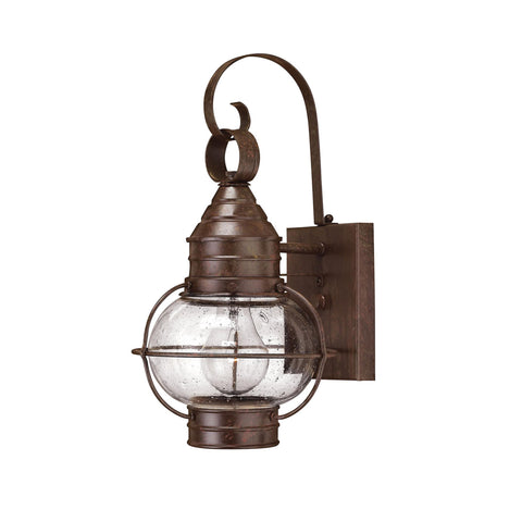 Cape Cod Outdoor Wall Lantern with LED bulb in Sienna Bronze 2200SZ-LED