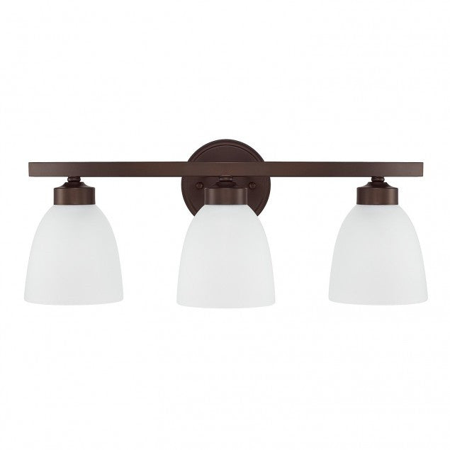 3 Light Jameson Vanity in Bronze by Capital Lighting 114331BZ-333