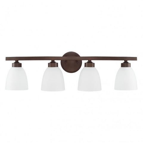 4 Light Jameson Vanity in Bronze by Capital Lighting 114341BZ-333